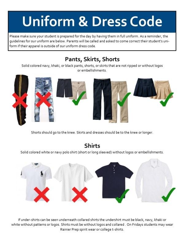 Standards Of Dress For Visitors